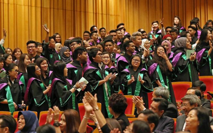Trumpeting an all-time high 9 poly graduates who get...