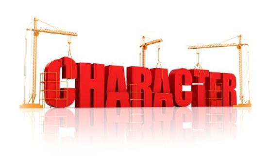 Develop your character and be confident of your own views