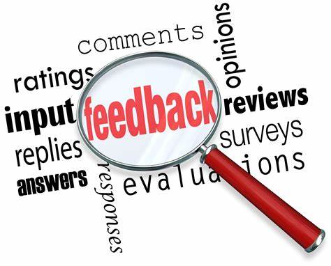 Avoid being overbearing in giving your feedback