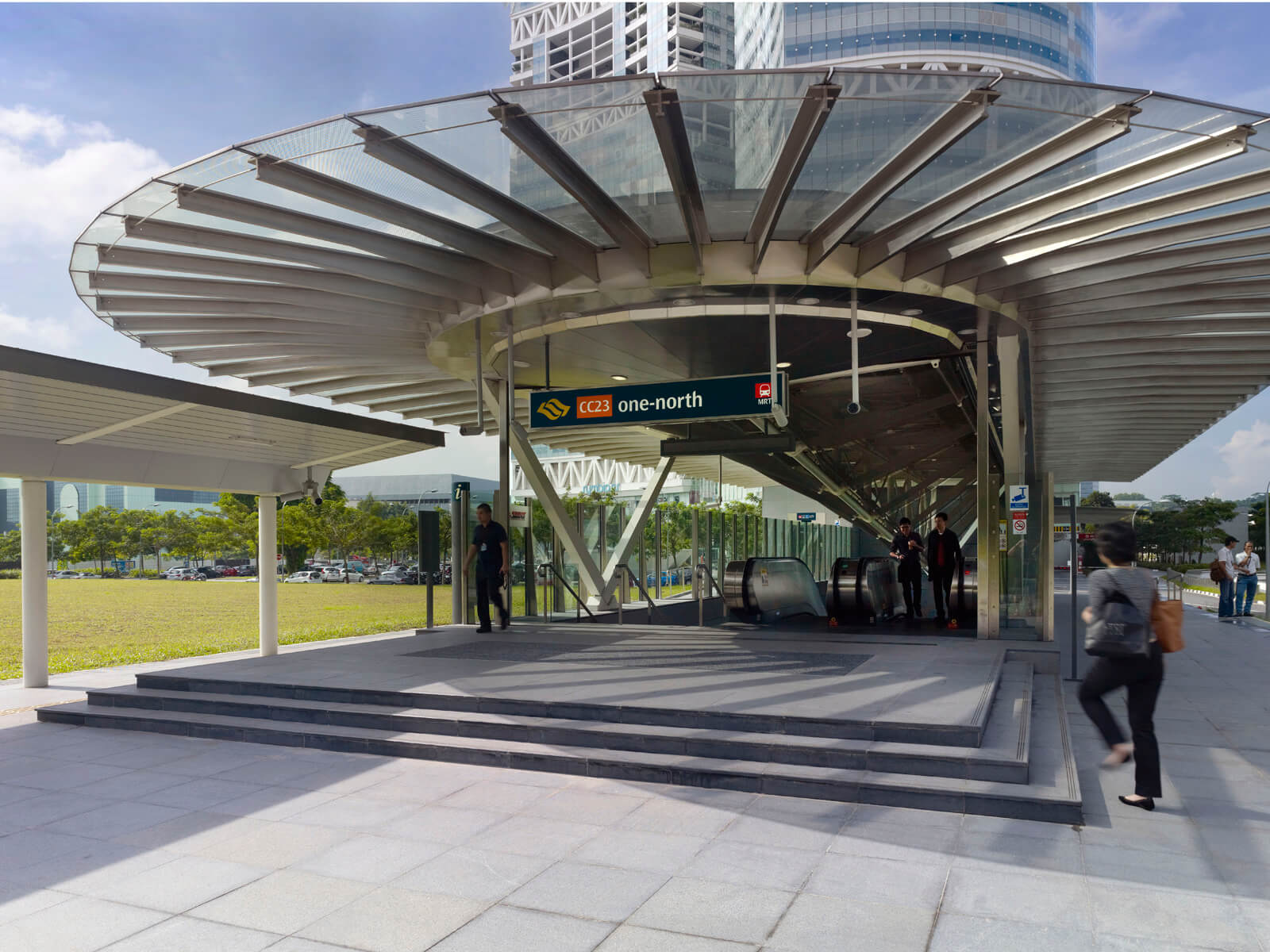 Provide direct exits for MRT stations