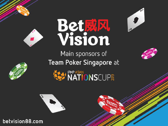 BetVision - The main sponsors of Team Singapore at...