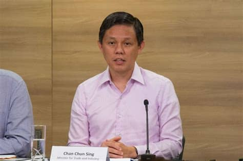Chan Chun Sing - 80% of jobs created went to Singaporeans